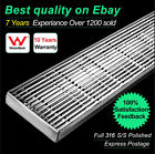 316 Stainless Steel Wedge Wire Designer Linear Bathroom Shower Grate Drain