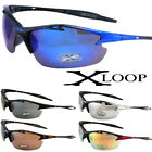 Mens XLOOP Baseball Cycling Wrap Sports Running Driving Sunglasses Golf Around