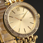 Taylor Cole Fashion Crystal Analog Quartz Stainless Steel Lady Women Wrist Watch