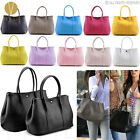 REAL GENUINE LEATHER GARDEN PARTY TOTE Women's Celebrity Candy Shoulder Handbag
