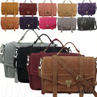 NEW Fashion Women's Faux Leather Satchel Handbag Cross-body Sling Messenger Bag