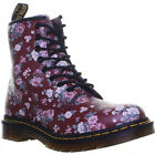 Dr Martens 1460 W Womens Leather Cherry Boots Size 3 - 8