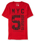 Aeropostale Mens NYC 5 Boroughs Graphic T-Shirt