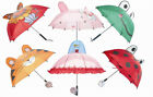 """First Steps"" Childrens Compact Folding Umbrellas In Fun & Playful Designs"
