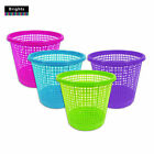 """Brights"" Waste Rubbish Bin in Basket Style for Bedroom, Bathroom & Study Office"
