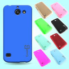 Hard Rubberized Matte Phone Cover Slim Case for Huawei AT&T Tribute / Fusion 3