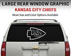 Kansas City Chiefs Window Decal Graphic Sticker Car Truck SUV - Choose Size $18.95 USD on eBay