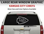 Kansas City Chiefs Window Decal Graphic Sticker Car Truck SUV - Choose Size on eBay