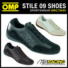 ORC3401 OMP 'STILE 09' PIT CREW MECHANIC CASUAL SHOES LEATHER/SUEDE - 3 COLOURS!