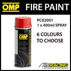 PC02001 OMP FIRE PAINT - HIGH TEMPERATURE SPRAY FOR EXHAUSTS, BRAKES, ENGINES