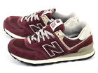New Balance NB ML574VWI D Unisex Classic Casual Deep Burgundy/Grey/Off Wihite