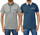 Mens Designer Duck & Cover Polo T Shirt Contrast Collar Jersey Pique Top 2 Style