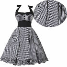 Vintage Style Rockabilly Retro Swing 50s 60s pinup Housewife Prom Party Dresses
