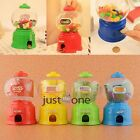 Mini Kids Toy Sweets Dispenser Candy Vending Machine Saving Bank Coin Gumball