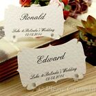Personalised Place Cards/Escort Cards with Stands Wedding/Party