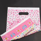 Lovely Pattern Prints Plastic Carrier Bags Shopping Boutique Gift Package New J