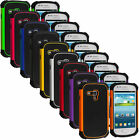 Deluxe Hybrid Rugged Shockproof Hard Case Cover For Samsung Galaxy S3 Mini i8190