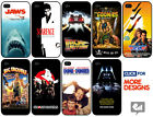 FAMOUS Movie Poster Case Cover for iPhone HARD Plastic Gift Fan Novelty Film DVD £3.95 GBP