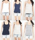 NWT HOLLISTER By Abercrombie Women's Tank Tank Slim Fit Lace M 2.7
