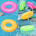 """New 36"""" Neon Frost Swim Ring Pool Beach Inflatable Floating Swimming Tube 90CM"""