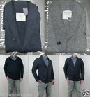 NWT Abercrombie & Fitch Men Classic Jay Range Kilburn Mountain Cardigan Sweater