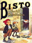 Metal Vintage Retro Shabby-chic Bisto Tin Sign Wall Plaque / Fridge Magnet