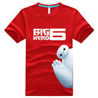 6 COLORS 100% COTTON DISNEY MOVIE BIG HERO 6  BAYMAX T-SHIRT MEN LADIES