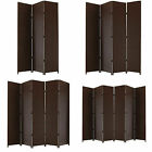 ENTWINE Brown Hand Made Woven Room Dividers Square Top 3, 4, 5, 6 Panel