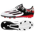 adidas JR Messi 10.3 FG Youth Soccer Cleats Football Shoes White/Granite/Scarlet