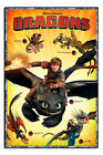 Dragons Characters Childrens Poster New - Maxi Size 36 x 24 Inch