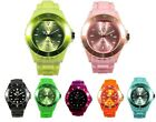 AN London Jelly Boys Girls Men's Women's Kids Wrist Watch Rubber Silicon Watch