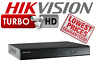 4/8/16 CH Hikvision DVR HD TVI DVR Recorder Turbo 1080P HDMI Hybrid P2P Cloud