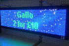 LED SCROLLING PROGRAMMABLE SIGN - TOP QUALITY + FREE KIT