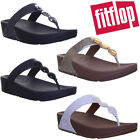 Fitflop Petra Women Leather Slip On Sandals Size 3 4 5 6 7 8