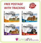 Frontline Plus Flea & Tick Treatment For Small/Medium/Large Dogs 6 pack EXP:2018