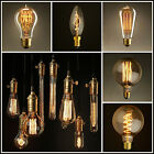 Vintage Style Antique Retro Filament Bulbs E27 & B22 Squirrel cage 40w 60w 100w
