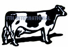 A12 ~ Black & White Holstein Cow Ceramic Decals, 6 sizes to choose from, Dairy image