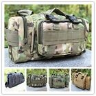 New Military Tactical Camera Case Cycling Waist Bag Shoulder Bag Pouch Pockets S