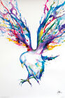 Watercolour Bird POSTER (61x91cm) Achilles Marc Allante New Wall Art Print