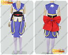 Fairy Tail Erza Scarlet Cosplay Costume purple