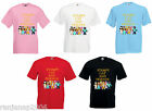 Stampy Cat And Friends T Shirt Long Nose Mine Funny Craft 3-13 Years Leema Squid