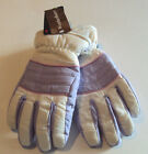 Girls Weather Beaters Brand Lavender or Light Blue Waterproof Gloves Size M/L
