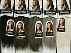 "100 Human Hair New Yaki Weave 8 12""Tangle Free Mixed Gray 34 44 51 56 60 280"