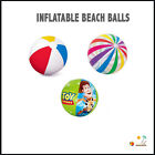 "Inflatable Blowup Beach Ball 16"" 20"" 24"" 42"" Party Swimming Garden Toy Story"