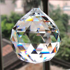 20MM Clear Chandelier Crystal Ball Lamp Lighting Prisms Hanging Drops With Rings