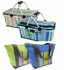 Picnic Camping Large Cool Bag Which Folds Down For Easy Carrying Foldable Cooler