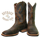 Ariat Men's Quickdraw Oiled Rowdy Brown Boots 10006714