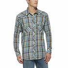 Ariat Men's Storm Blue Multi Landon Long Sleeve Casual Snap Shirt 10014501
