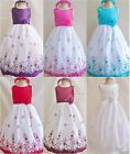Adorable White Red Wine Fuchsia Black Turquoise wedding flower girl party dress