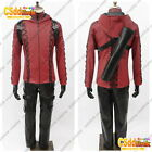 Green Arrow Season 3 Arsenal Roy cosplay costume red with mask